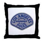 LAPD Rampart Division Throw Pillow
