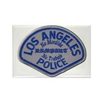 LAPD Rampart Division Rectangle Magnet