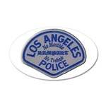 LAPD Rampart Division Wall Decal