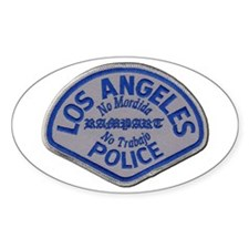 LAPD Rampart Division Decal