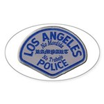 LAPD Rampart Division Sticker