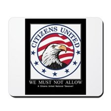 No Teabaggers! Mousepad