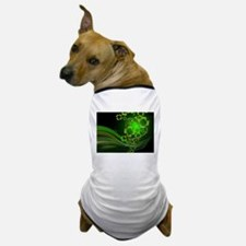 Heart And Shamrocks Dog T-Shirt