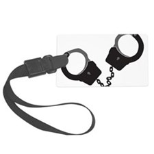Handcuffs Luggage Tag