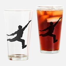 Happy Guy Drinking Glass