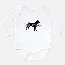 Cane Corso Long Sleeve Infant Bodysuit