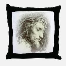 Ecce Homo Throw Pillow
