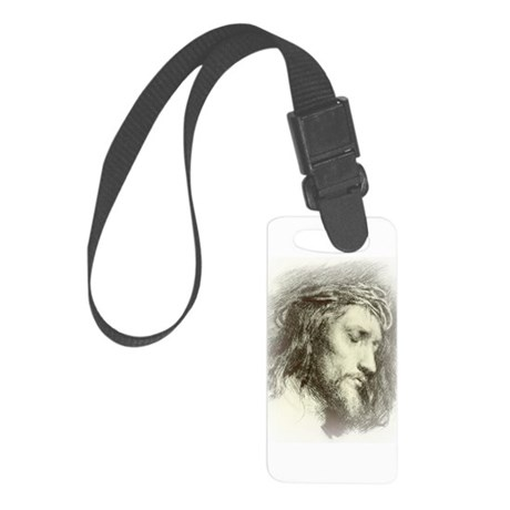 Ecce Homo Small Luggage Tag