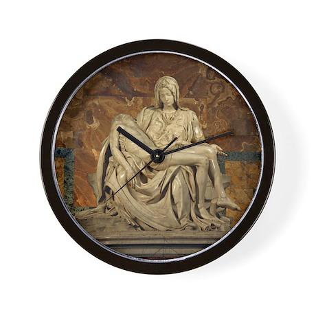 Michelangelos Pieta Wall Clock