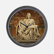 Michelangelos Pieta Wall Clock