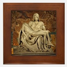 Michelangelos Pieta Framed Tile