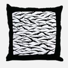 Pterodactyls Throw Pillow