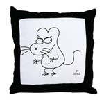 badrat.gif Throw Pillow