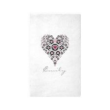 Love Emily 3'x5' Area Rug