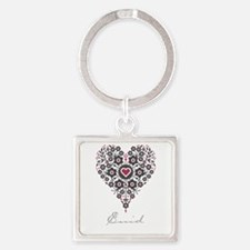 Love Enid Square Keychain