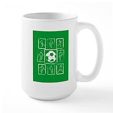 Fun Soccer players design Mug