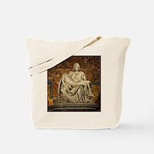 Michelangelos Pieta Tote Bag