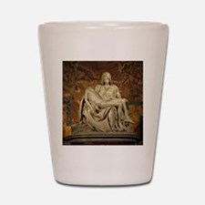 Michelangelos Pieta Shot Glass
