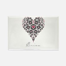 Love Erica Rectangle Magnet