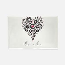 Love Ericka Rectangle Magnet