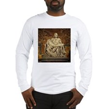 Michelangelos Pieta Long Sleeve T-Shirt