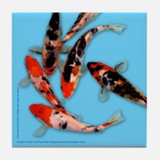 Cool Butterfly fish Tile Coaster