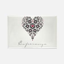 Love Esperanza Rectangle Magnet