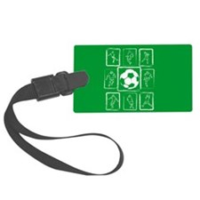 Soccer design Luggage Tag