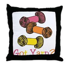 Got Yarn? Throw Pillow