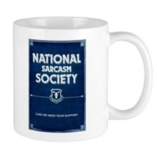 National Sarcasm Society Mugs