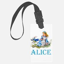 ALICE IN WONDERLAND - BLUE Luggage Tag