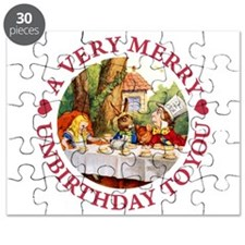 A VERY MERRY UNBIRTHDAY Puzzle