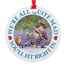 MAD HATTER'S TEA PARTY Ornament