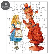 ALICE & THE RED QUEEN Puzzle