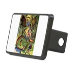 Alice Jabberwocky.png Rectangular Hitch Cover