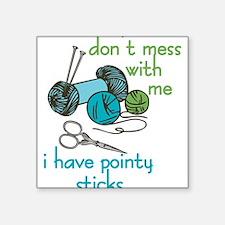 Pointy Sticks Sticker