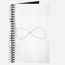Colorguard Infinity in Neon Green Journal