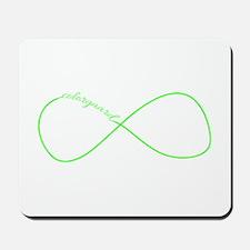 Colorguard Infinity in Neon Green Mousepad