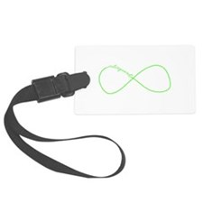 Colorguard Infinity in Neon Green Luggage Tag