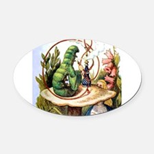 ALICE_8_SQ.png Oval Car Magnet