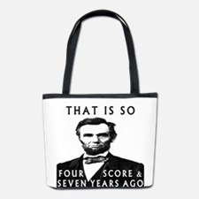 Abe Lincoln Bucket Bag