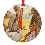 Alice in Wonderland014 SQ.png Round Ornament