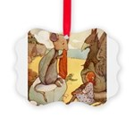Alice in Wonderland014 SQ.png Picture Ornament