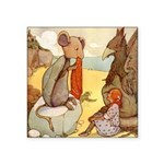 Alice in Wonderland014 SQ.png Square Sticker 3
