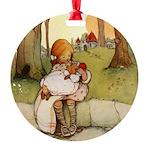 Alice in Wonderland011- SQ.png Round Ornament