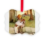 Alice in Wonderland011- SQ.png Picture Ornament