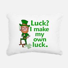 Funny Angry Lucky Irish Leprechaun Rectangular Can