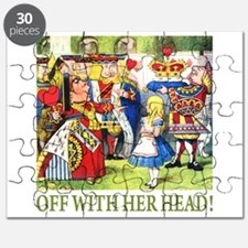 OFF WITH HER HEAD! Puzzle