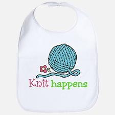 Knit Happens Bib