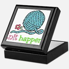 Knit Happens Keepsake Box